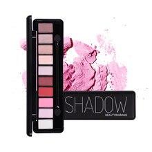 Тени для век beauty bigbang 10 цветов тени палитра макияжа мерцающие