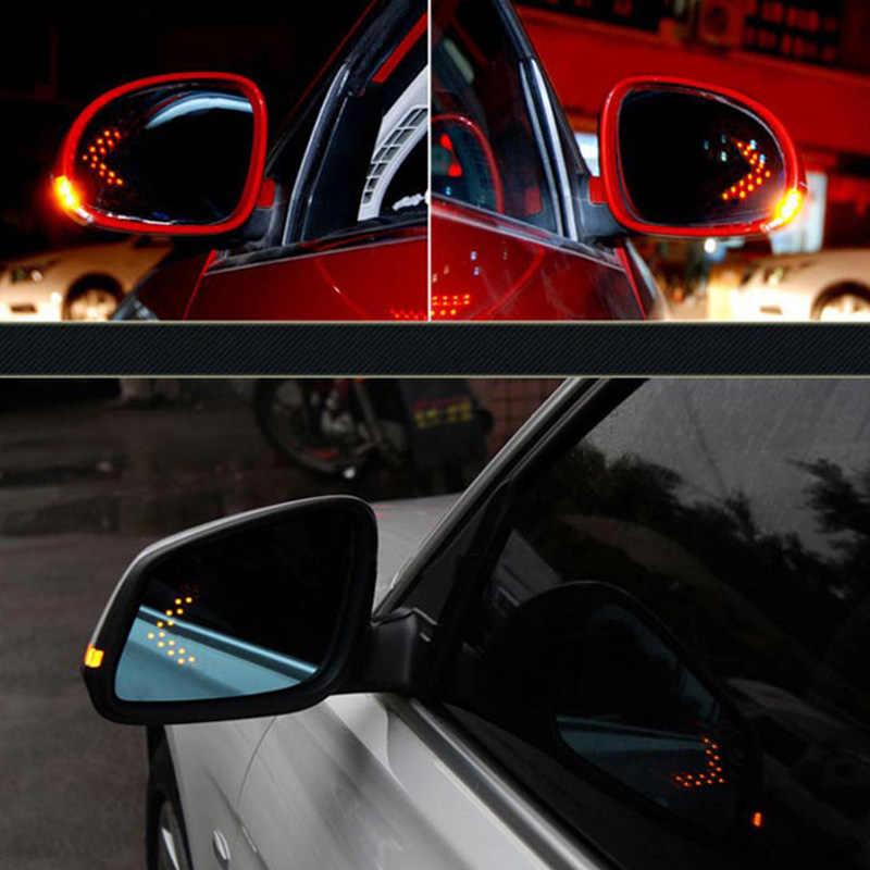 Mobil Styling 14 SMD LED Turn Sinyal Lampu untuk Hyundai Solaris I30 Bisa Creta Tucson Santa Fe Ix35 I20 Mobil belakang Cermin Lampu