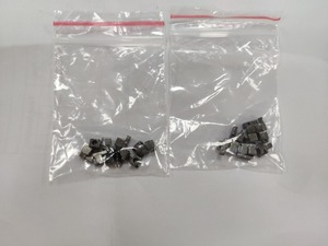 Image 1 - 500 paires gris métal L R gauche et droite boucle serrure ensemble de prises pour interrupteur NS Joycon réparation