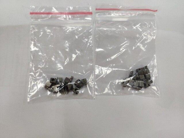 500 paires gris métal L R gauche et droite boucle serrure ensemble de prises pour interrupteur NS Joycon réparation