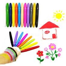 Landzo criança desenho brinquedos, adulto maquiagem caneta pintura corporal, pintura vara para o cabelo, rosto, papel desenho crayon lavável twistable crayon