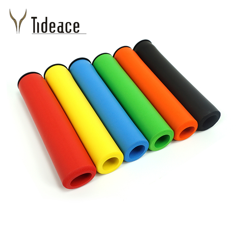 Handlebar Soft 1 Pair Bicycle Handle Bar  Grips Grips Cover Outdoor MTB Mountain Bike Cycling Bicycle Silicone Anti-slip