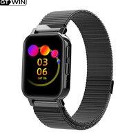 GTWIN Smart Uhren Wasserdichte Bluetooth-kompatibel Blutdruck Fitness Tracker Heart Rate Monitor SmartBand Für IOS Android
