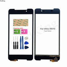 5'' Mobile Touch Screen For Infinix X5010 Touch Screen Digitizer Lens Sensor Panel Front Glass Repair Parts Tools Adhesive