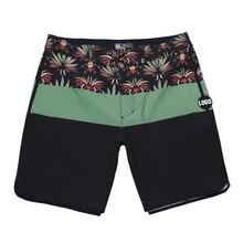 Новинка 2020, мужские эластичные пляжные шорты Phantom из спандекса, водонепроницаемые пляжные шорты для серфинга, фитнеса, тренажерного зала, бы...