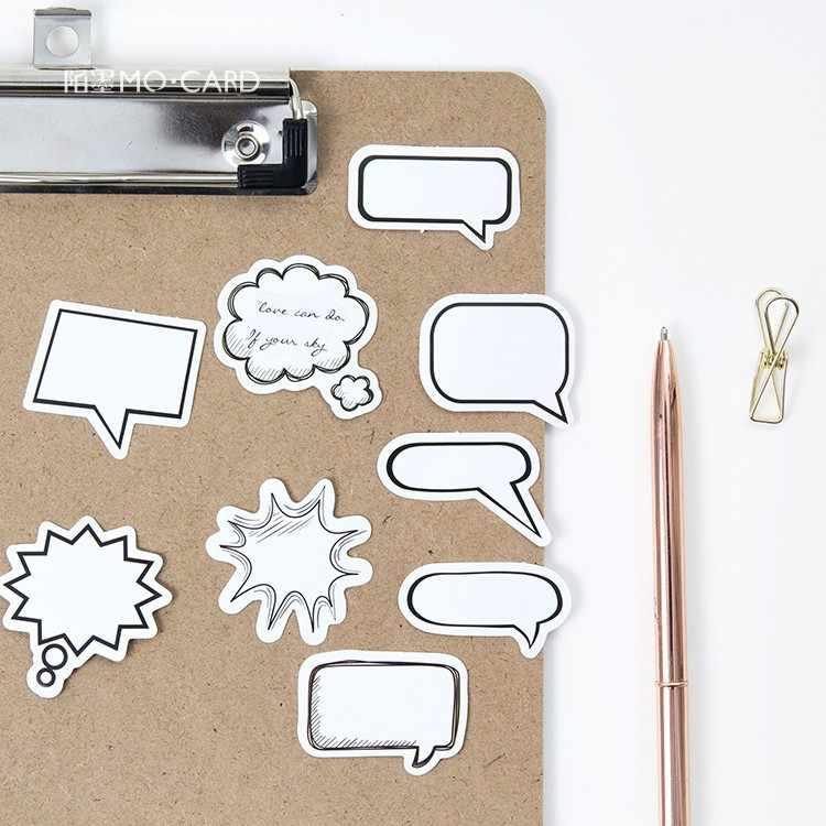 45 piezas papelería pegatinas Kawaii diario hecho a mano de papel adhesivo escama etiqueta Scrapbooking papelería lindo pegatinas de casa verde