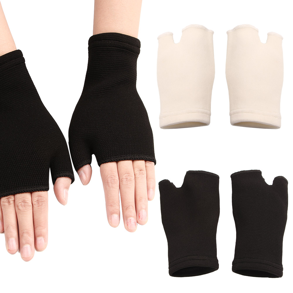 1 Pair Cute Elastic Palm Glove Ultrathin Ventilate Wrist Guard Arthritis Brace Sleeve Elastic Palm Hand Wrist Supports