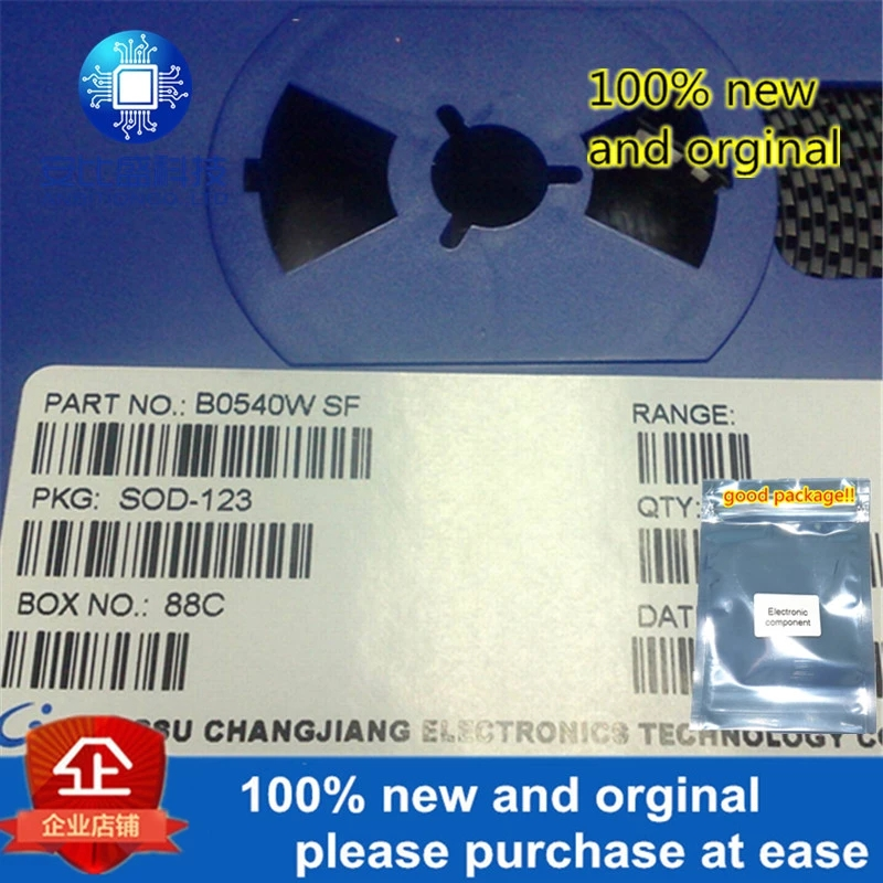 20pcs 100% New And Orginal Schottky Diode B0540W Silk-screen SF SOD123 In Stock
