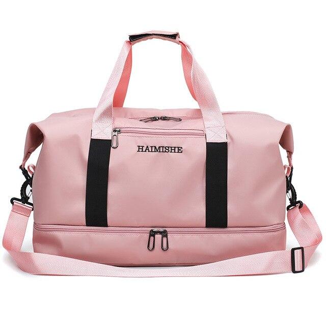 2019 Travel Luggage Bag Gym Bags Waterproof Nylon Sports Handbags Women Yoga Swimming Tas Dry Wet Gymtas Sac De Sport