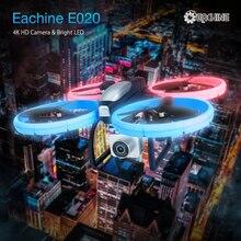 Eachine E020 LED WIFI FPV Mit 4 K/1080 P HD Weitwinkel Kamera Höhe Halten Modus APP Verbunden RC Drone Quadcopter RTF