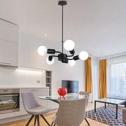 Jadalnia-lampa pokojowa jest współczesna i zakontraktowana 5 europa północna oryginalność indywidualny charakter sypialnia salon lampa artystyczna