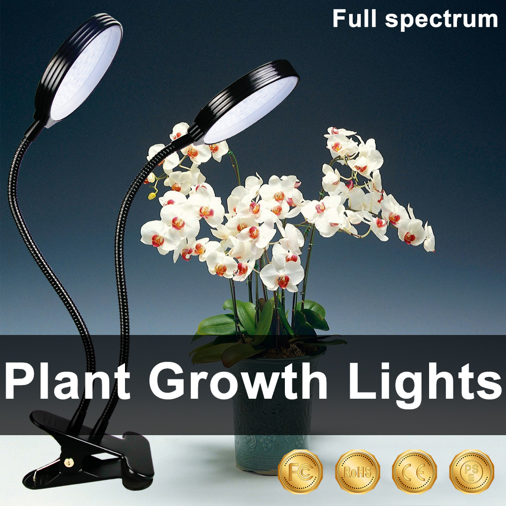 LED Grow Light Spectrum LED Plant Grow Light Bulb Withe Light DC5V 15W 30W 45W Clip USB Power Supply Chambre De Culture Indoor