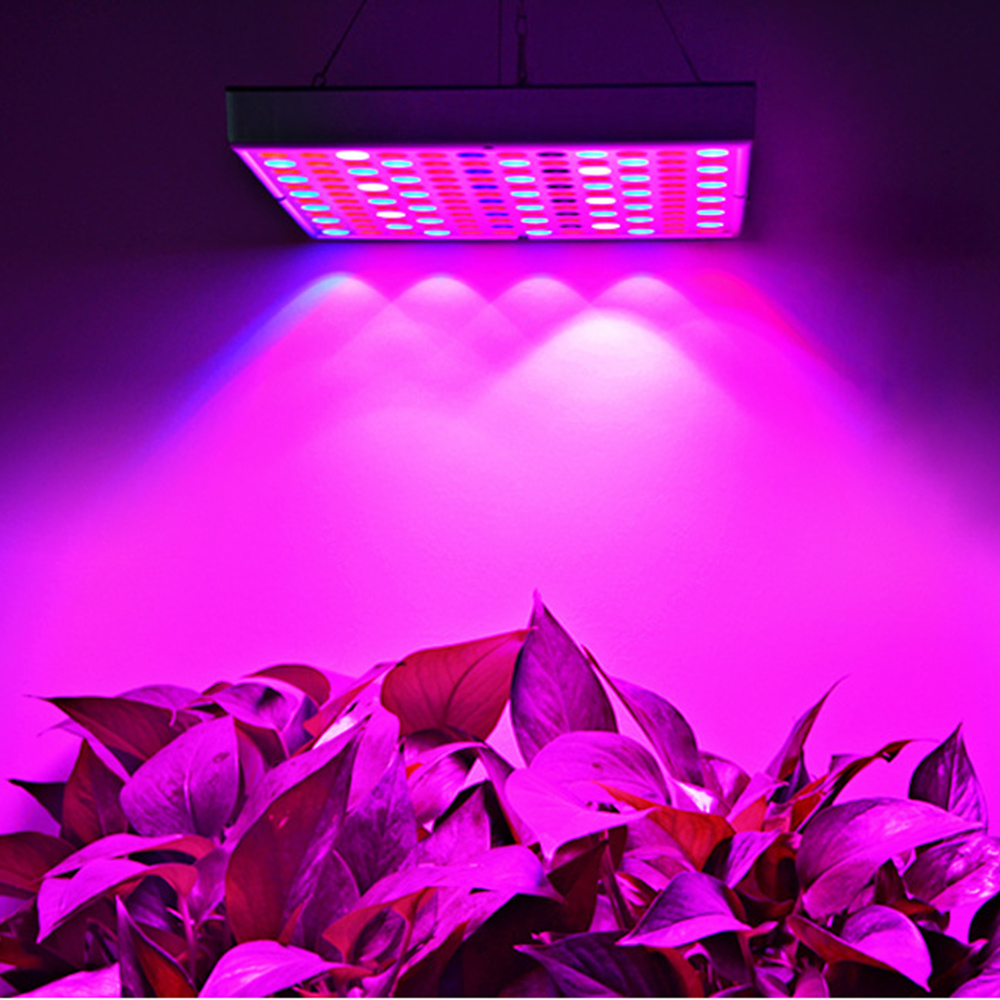 75LEDs 144led Plants Grow LED Light 50W 90W Full Spectrum For Greenhouse Grow Tent Plants Seedling Flower Plants Hang Grow Light