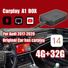 Carplay Ai Box Für Apple TV zu Android System Auto Video Android Multimedia Player Mirrorlink Für Benz Audi Tv Für auto Box 2 + 32G