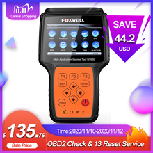 Foxwell NT650 Obd 2 Auto Tool Automotive Scanner Code Reader Sas Dpf Injector Brt Olie 13 Reset Service Obd OBD2 diagnostic Tool