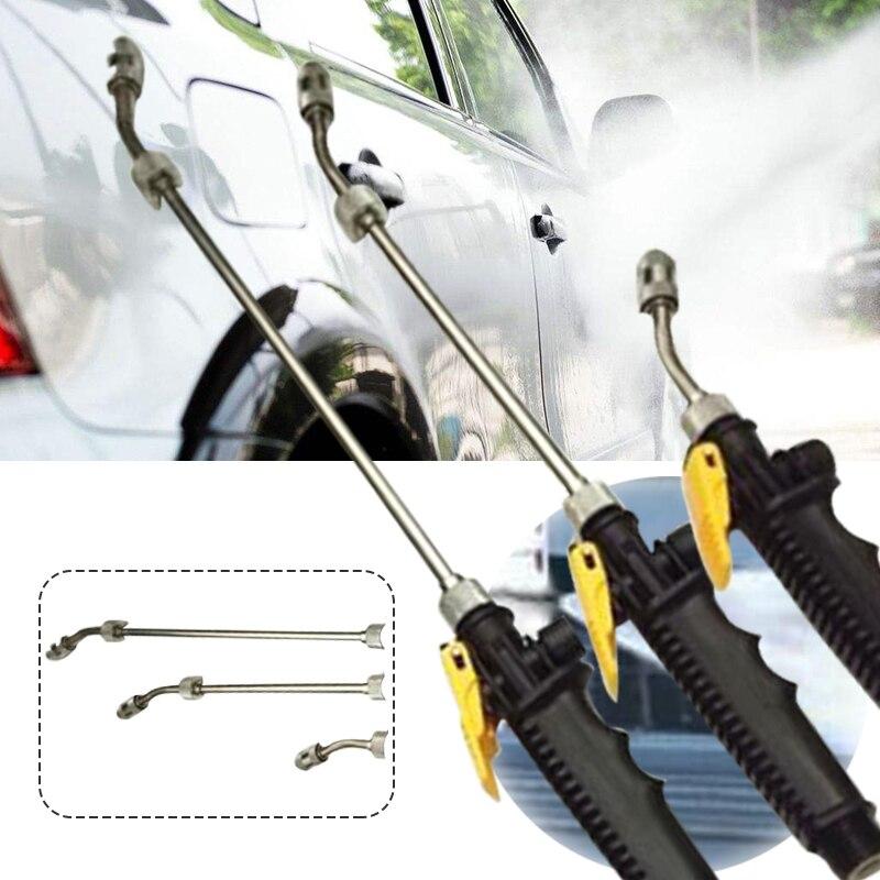 Car Water Gun Washer Spray High Pressure Adjustable Wand Metal Home &Amp; Garden Power Nozzle Garden Sprayer