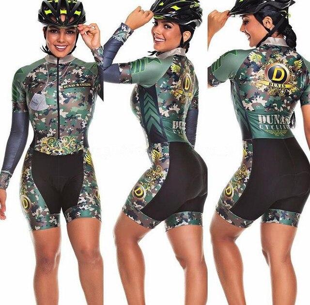 2020 pro equipe triathlon terno feminino camisa de ciclismo skinsuit macacão maillot ciclismo ropa ciclismo manga longa conjunto gel 5