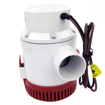 12V 4700 GPH Marine Bilge Pump Boat Water Pump Yacht Submersible Pump