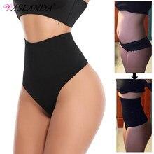 Vrouwen Thong Panty Shaper Hoge Taille Tummy Controle Slipje Afslanken Ondergoed Taille Trainer Vormgeven Slips Butt Lifter Shapewear