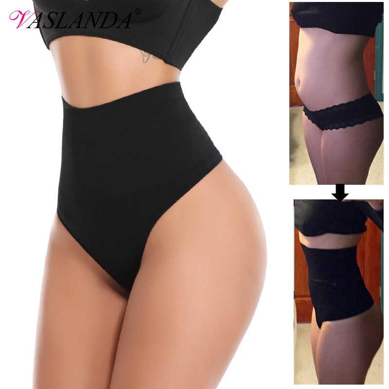 Women Thong Panty Shaper High Waist Tummy Control Panties Slimming Underwear Waist Trainer Shaping Briefs Butt Lifter Shapewear Control Panties Aliexpress