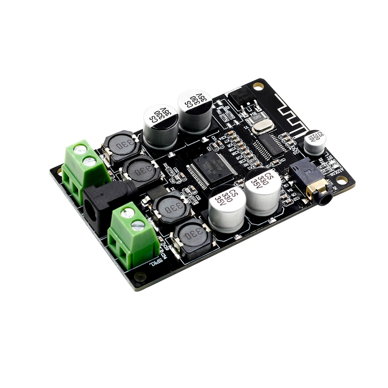 Vhm-307 Tda7492P Bluetooth Receiver Amplifier Audio Board 25Wx2 Speakers Modified Music Mini Amplifiers Diy Dual Channel
