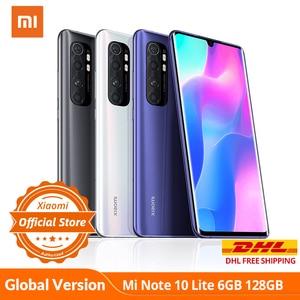 Смартфон xiaomi mi Note 10 Lite, 6 ГБ 128 ГБ, глобальная версия, Snapdragon 730G, nfc, G-pay, 64mp четыре камера, 5260 мАч, 30 Вт