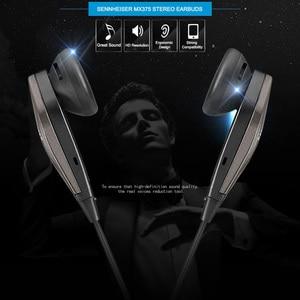 Image 5 - ゼンハイザーMX375オリジナルステレオイヤホン重低音イヤホン3.5ミリメートルヘッドセットスポーツヘッドフォンhd解像度音楽iphone androd