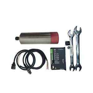 Image 1 - 250W 24000Rpm ER8 Borstelloze Spindel Motor + MACH3 Driver Cnc Spindel Kits DC36V Voor Cnc Boren Frezen Carving