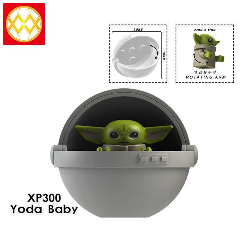 Bebek Yoda mandaloryalı naves yıldız yükselişi skywalker Wars 9 Kylo Rened Star Wars oyuncak inşaat blokları
