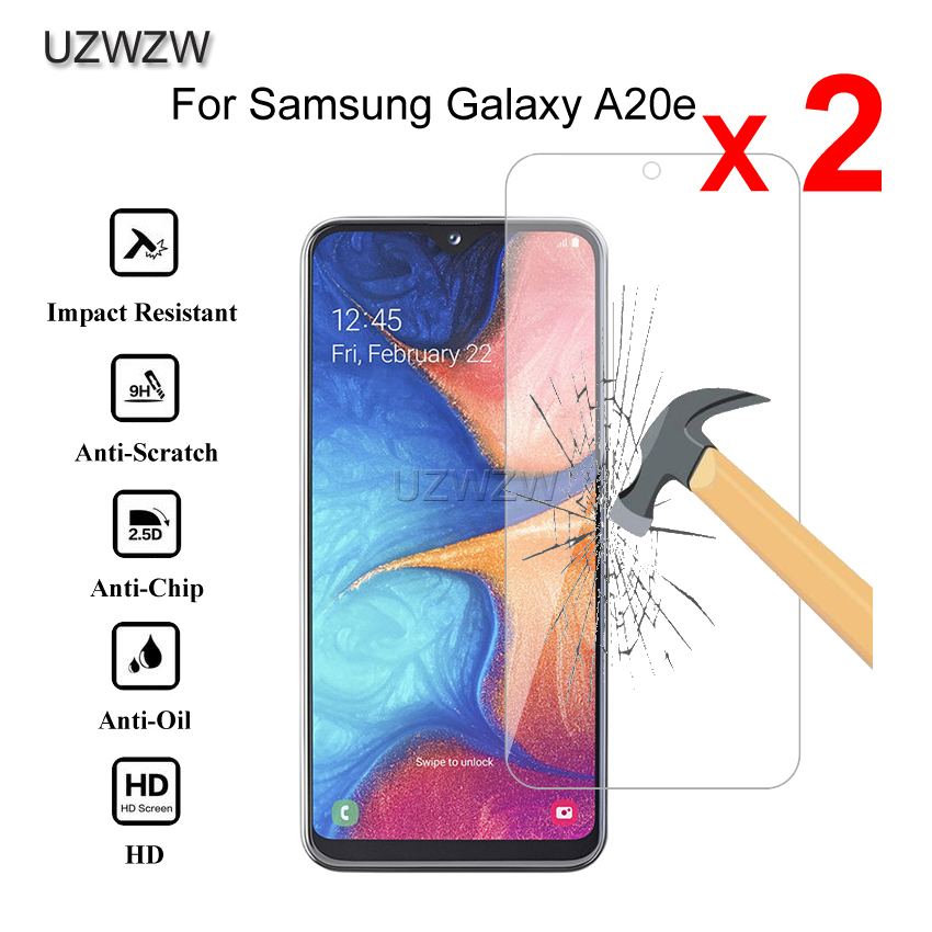 2pcs Premium Tempered Glass For Samsung Galaxy A20e Protective Tempered Glass Screen Protector For Samsung A20e Glass