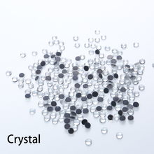 Large Package DMC Hotfix Rhinestone clear crystal white colour Flat back rhinestone with glue for shoes dress accessaries Strass