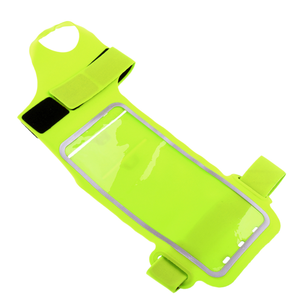 10x 20cm/3.9x 7.9 Inch Waterproof Sports Wrist Arm Band Bag Pouch Outdoor Phone Wallet Holder For Women Men