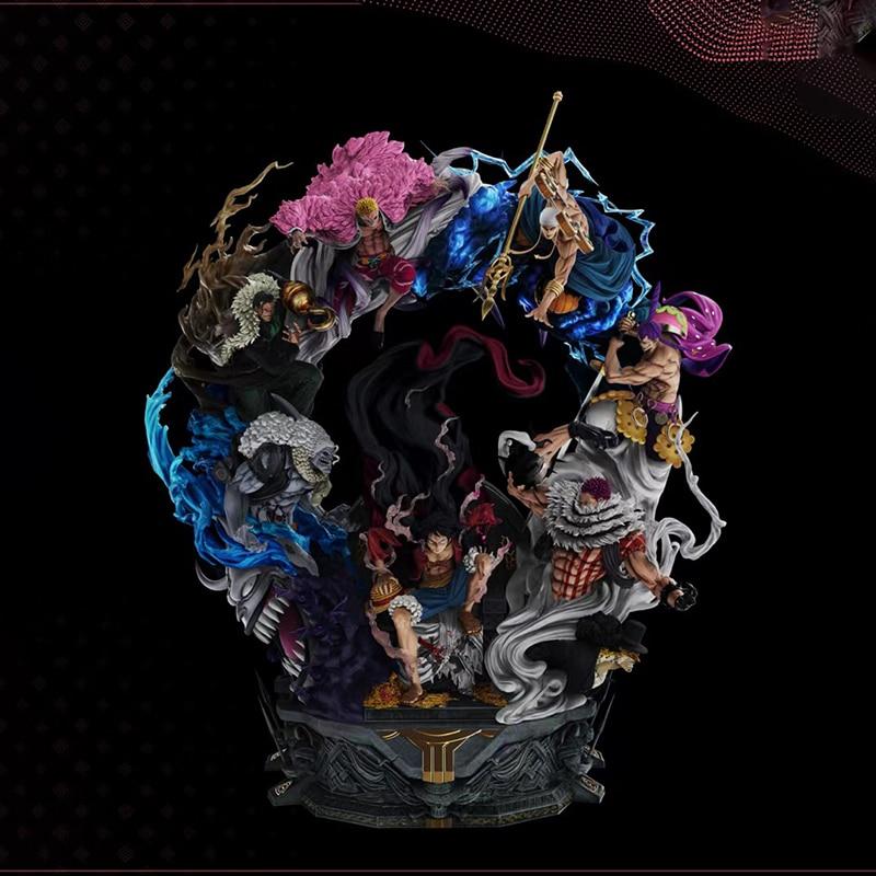 Throne Luffy GK Limited Statue Figure 1