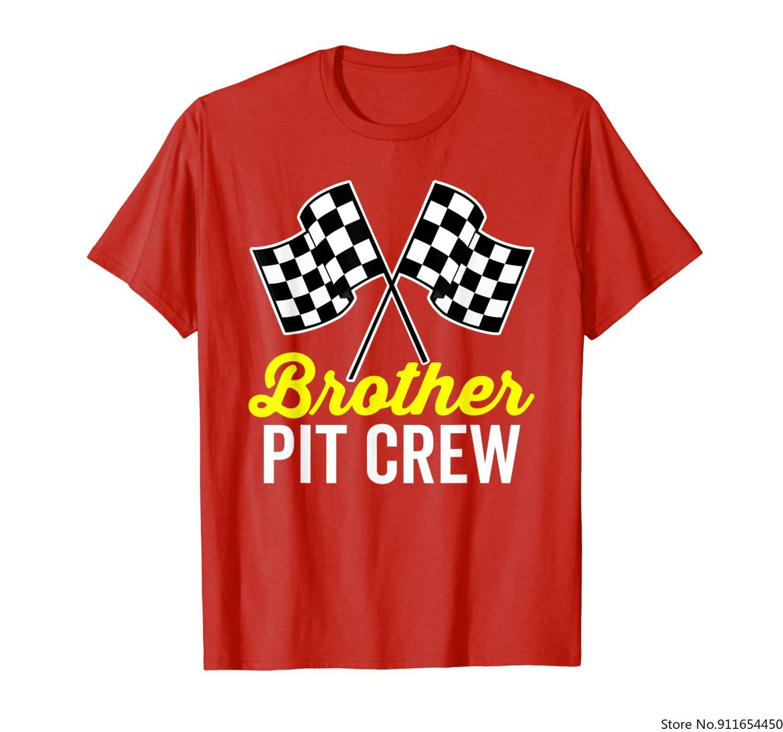 Brother питэкинг для гонок костюм для вечерние Темная футболка