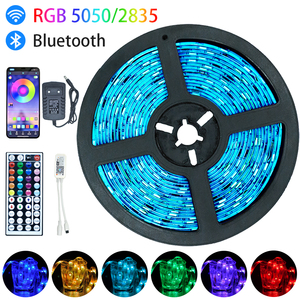 Led Light Strip Luces Led RGB 5050 SMD 2835 Bluetooth WiFi Waterproof Color Changing Flexible Ribbon Tape Diode 5M 10M 15M 20M