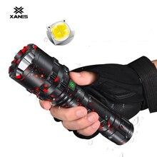 LED Flashlight Led-Torch Usb Rechargeable XHP50 XANES Lamp Camping Lantern 1800lumens