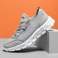 Breathable Summer Mens Sneakers Air Mesh  Mens Shoes Casual Light Weight Leisure Shoes for Men Sport Athletic Walking Shoes цена 2017