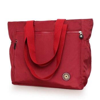 Waterproof Oxford Duffle Bag Large Capacity Women Travel Bags Shoulder Bag Valise Bolsa De Viagem Women's Handbags Shopping Bags