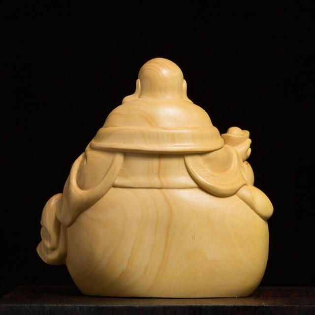Bouddha-rieur-maitreya-en-bois-de-buis-porte-bonheur