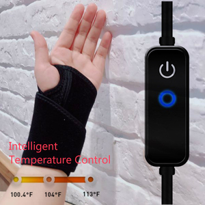 Image 1 - Graphene times Hot Multifunctional Electric Wrist Heating Brace Infrared Wrist Therapy Easy to Use