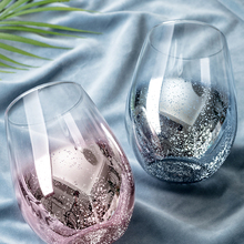 Новинка, звездное небо, градиентная цветная чашка, стеклянная чашка, Женская Бытовая чайная чашка, Офисная креативная чайная чашка, стеклянная чашка для воды