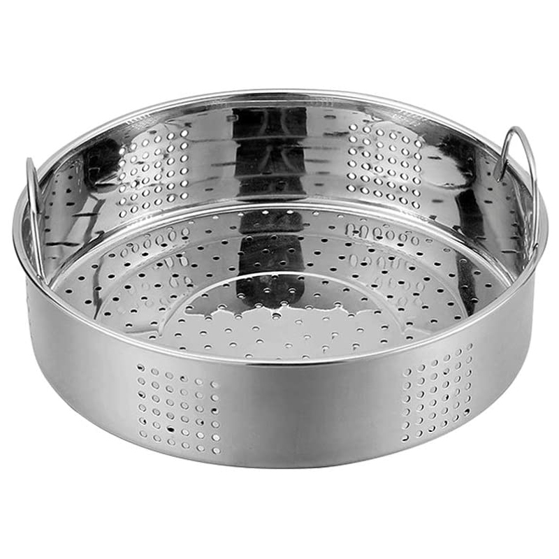 Stainless Steel Steamer Basket Thicken Food Steamer Basket For Steaming Dim Sum Dumplings Buns Vegetables Meat Fish Rice