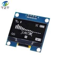 1.3 Polegada módulo oled cor branca 128x64 oled lcd display led módulo 1.3 iic i2c spi comunicar para arduino kit diy
