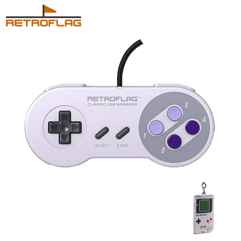 Retroflag Classic USB Gaming Controller U for Raspberry Pi  Windows  Switch  PC UPad|Gamepads| |  - title=