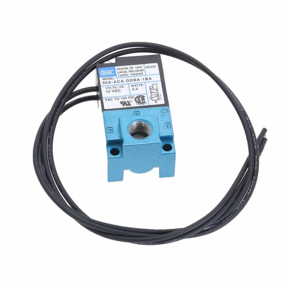 MAC 3 Port Electronic Boost Control Solenoid Valve DC12V 5.4W 35A-AAA-DDBA-1BA