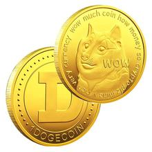 Dog Coin Commemorative Coin Collectible Coins with Protective Case Gifts for Collectors and Dog Lovers