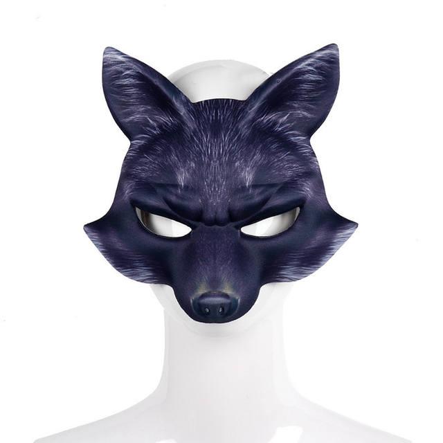 3D Party Fox Mask