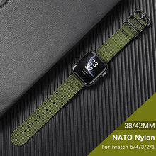 For Apple Watch Band Series 5 4 44mm 40mm Nylon Sport Loop Bracelet strap for iwatch 4 3 2 1 42mm 38mm Wristband accessories cheap XIYUZHIYI CN(Origin) 22cm Watchbands New without tags A-3801 Buckle series5 4 44mm 40mm series3 2 1 42mm 38mm Support for wholesale sale