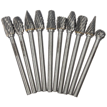 10pcs Hard alloy Rotary File Tungsten steel grinding head 3*6mm