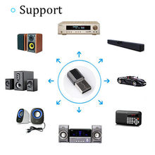 Wireless USB Bluetooth 3.5 Mm AUX Audio Stereo Musik Rumah Mobil Receiver Adaptefeniores Merek Nirkabel Bluetooth Receiver Adaptor R(China)